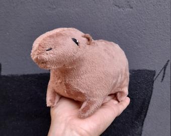 Capybara Plush Toy - Stuffed Capybara Plushie - Fluffy Capybara Stuffed Animal