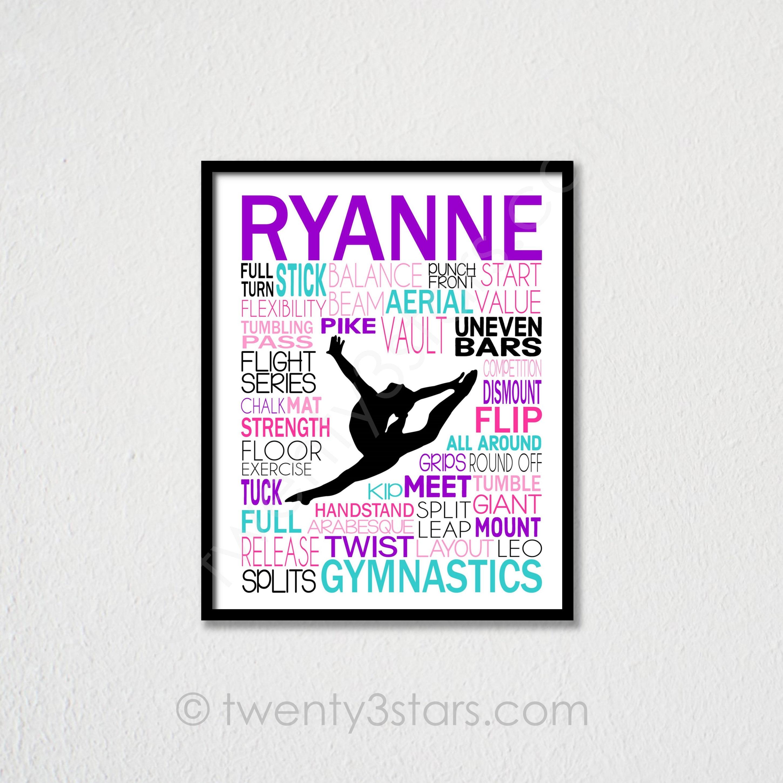 Gymnastics Gift Certificate Border Topsimages