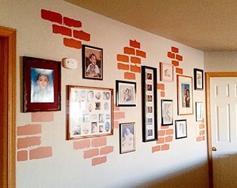 Popular Items For Brick Wall Decal