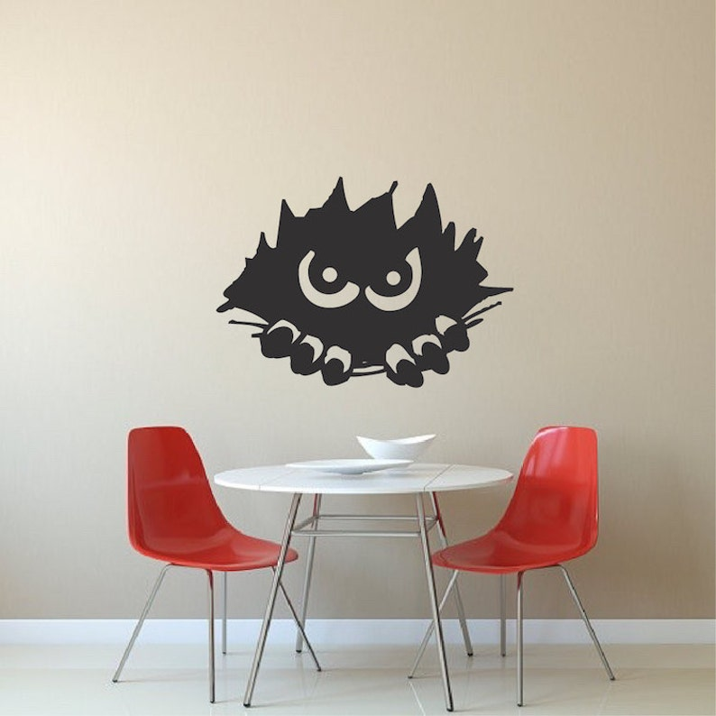 h12 Scary Tree Wall Decals Halloween Window Stickers Halloween Decorations