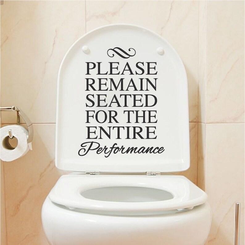 Cytaty śmieszne Toaleta Winylu Naklejki Naklejki łazienki Dom Naklejki życia Salon ścienne Naklejki Winylu Szalet Mural 46l