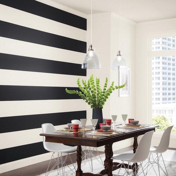 Wand Streifen Aufkleber Abnehmbare Schlafzimmer Streifen Vinyl | Etsy