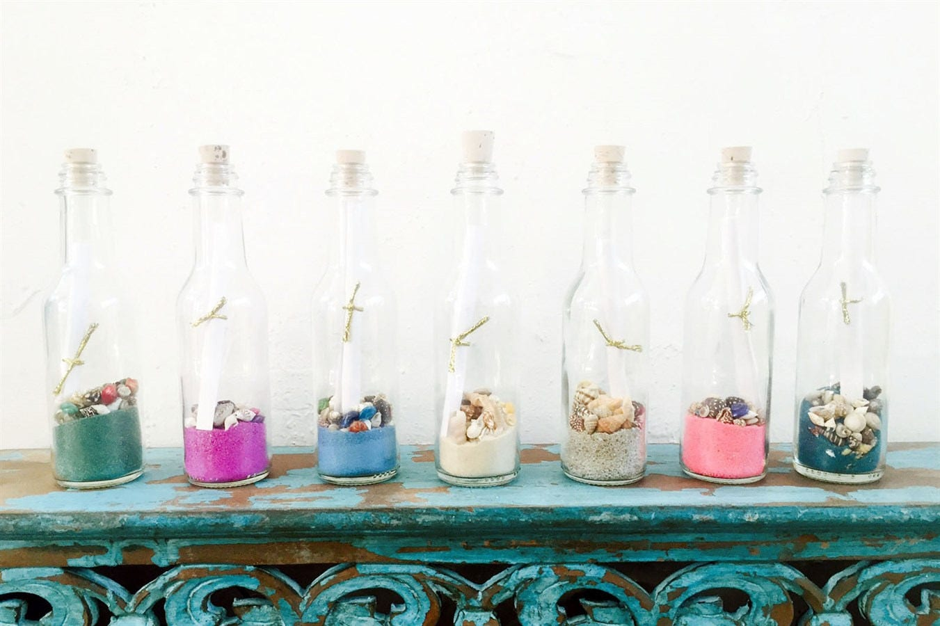 Message In A Bottle Favors / Wedding Favors / Party Favors / Wedding ...