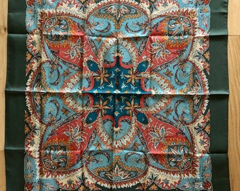 Vintage Ethnic Design ~ Liberty of London, Silk Scarf ~ New & Complete With Packaging ~ Sustainable Fashion
