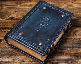 """7.5"""" x 10"""" (25.2 x 19 cm) - Tree of Life Leather Journal - Book of Shadows, Grimoire, Kabbalah magic, Magician book, Esoteric book, Kabbala"""