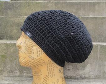 210ce0469a6 Dread Tam vEgAn size S black 100% cotton lined
