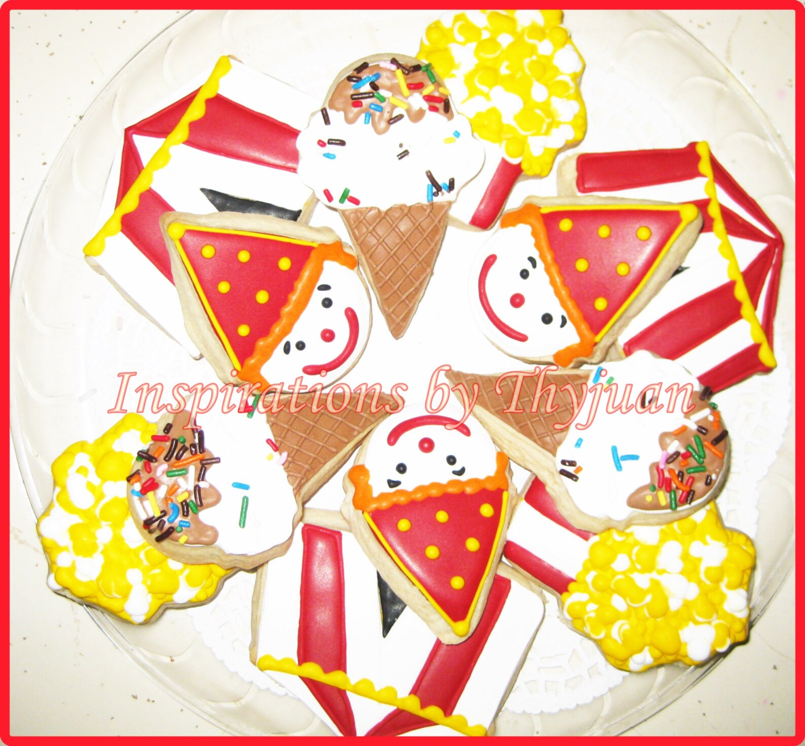 Circus Sugar Cookies Page Two
