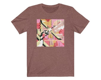 Fall Canadian Geese - Unisex Jersey Short Sleeve Tee