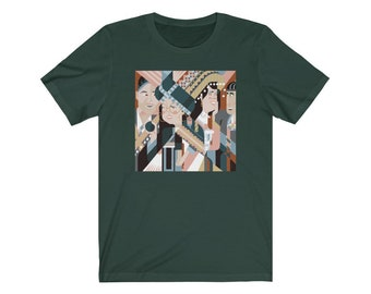 Hmong New Year Courtship - Unisex Jersey Short Sleeve Tee