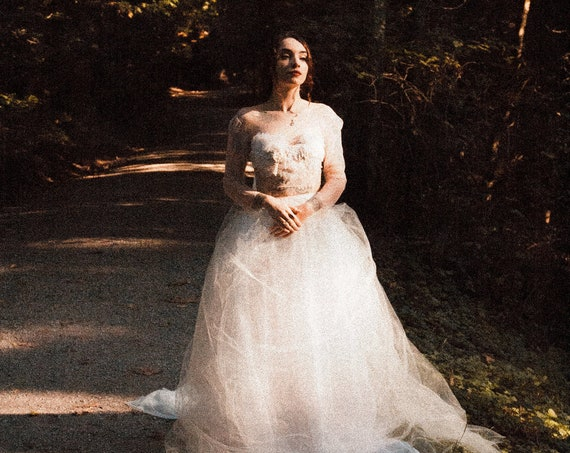 Gloria Tulle Wedding Skirt