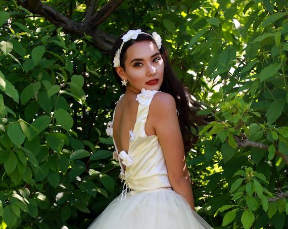 Spring Garden Bridal Top