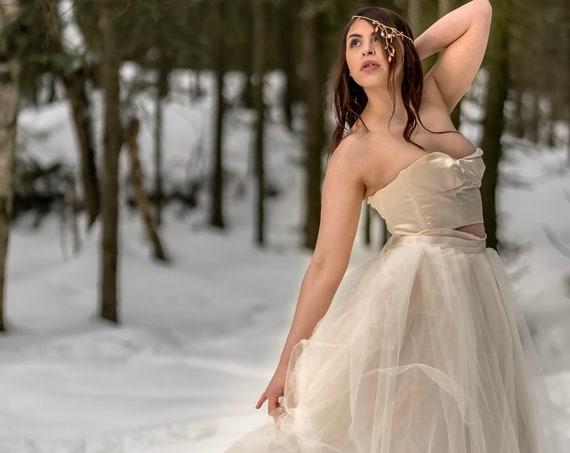 Olivia Tulle Over Skirt