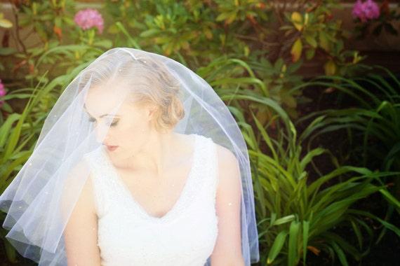 Starlight Bridal Veil with Swarovski Rhinestones