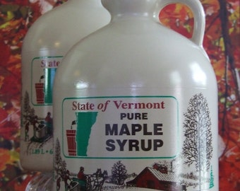 One Gallon of Pure Vermont Maple Syrup