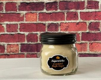 Granulated Maple Sugar - 13 oz in Glass Jar