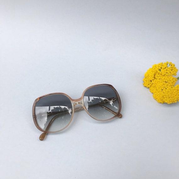 Lunettes de soleil Marcus K Grande Lentille Hommes Femmes Summertime Y2K style rétro vintage