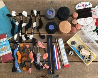 Vintage Sewing Supply Lot