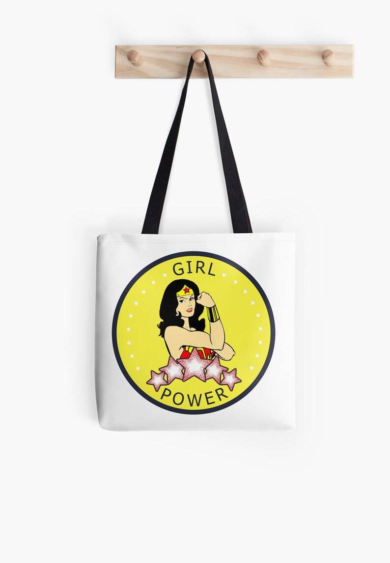 Girl Power tote bag image 0