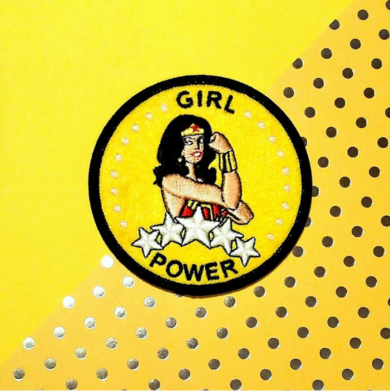 Girl Power  Wonder Woman  We can do it  Rosie the riveter image 0