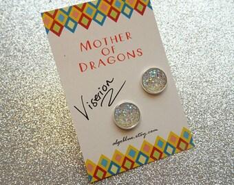 Viserion earrings - mother of dragons Daenerys Targaryen Game of Thrones