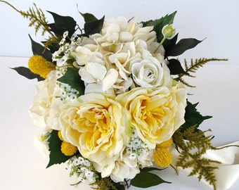 Yellow Rose Bouquet Etsy