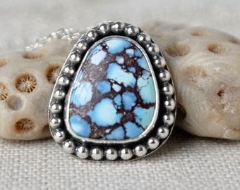 Golden Hills Turquoise / Kazakhstan Lavender Turquoise Pendant