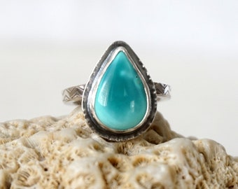 CLEARANCE - Hubei Turquoise Ring, Size 6 1/2