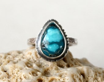 CLEARANCE - Hubei Turquoise Ring, Size 7