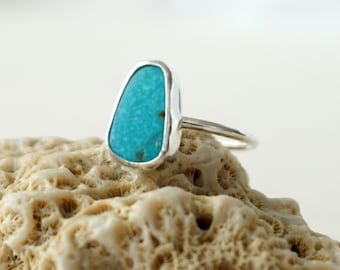 Turquoise Stacking Ring, Size 7