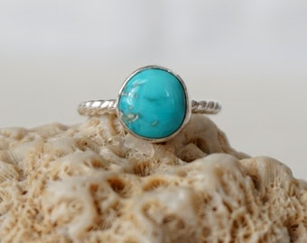 Turquoise Stacking Ring, Size 5