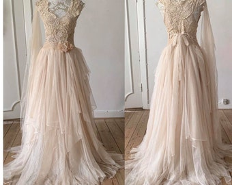 Fairy Wedding Dress Etsy,Guest Wedding Dresses For October