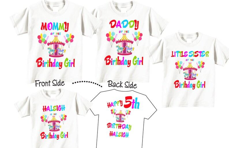 a328f4ce 1 shirt for Family Birthday Shirts Birthday Girl Birthday | Etsy