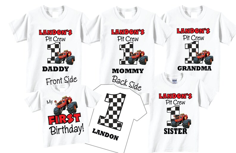 1 Shirt 1st Birthday Shirts For Mom Dad Sibling Family