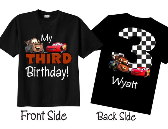 3rd Birthday Shirts For Boys Personalized Third