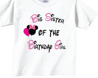 Big Sister of the Birthday Girl Shirts and Tshirts!