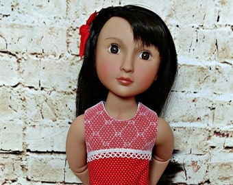 Doll Lace Top Shirt and Bubble Shorts Outfit Fits A Girl For All Time Dolls