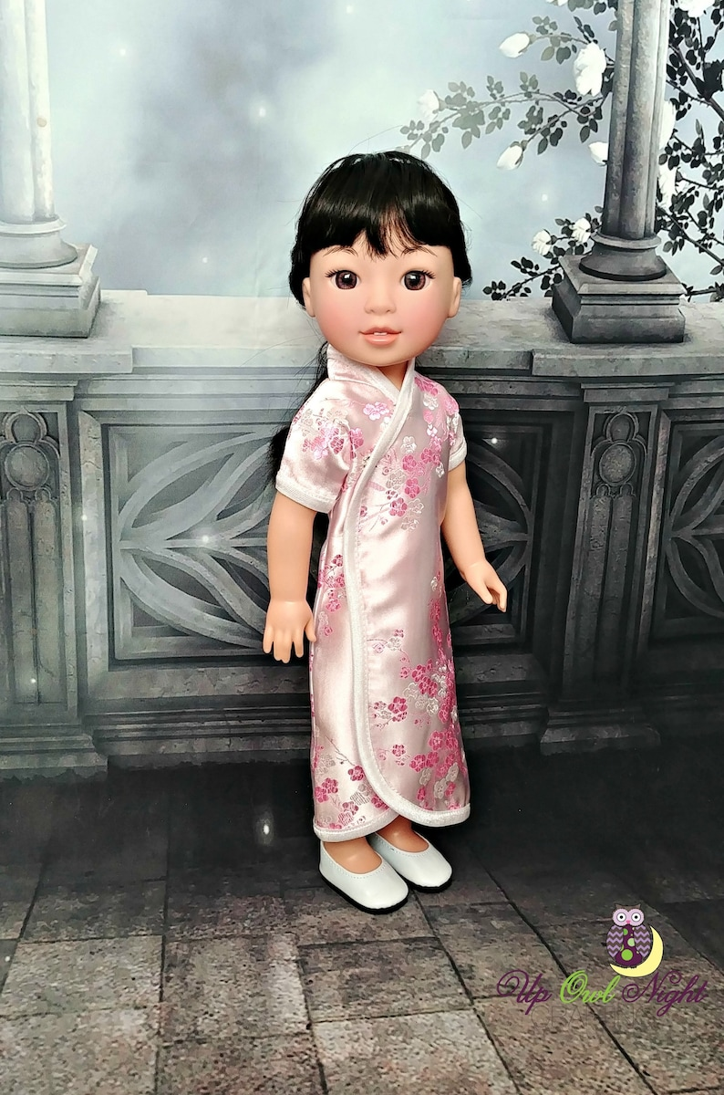 2bb38dee4 14 Doll Chinese New Year Dress Light Pink Fits | Etsy