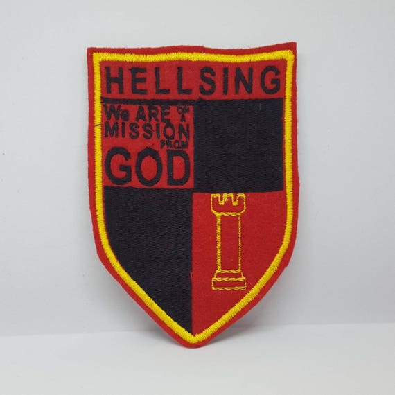 Hellsing Organization Patches Etsy