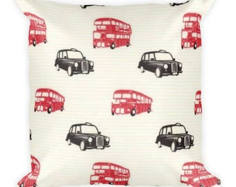 British Invasion Square Pillow