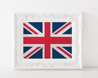 DIGITAL DOWNLOAD // UK British Flag