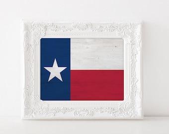 DIGITAL DOWNLOAD // Texas State Flag