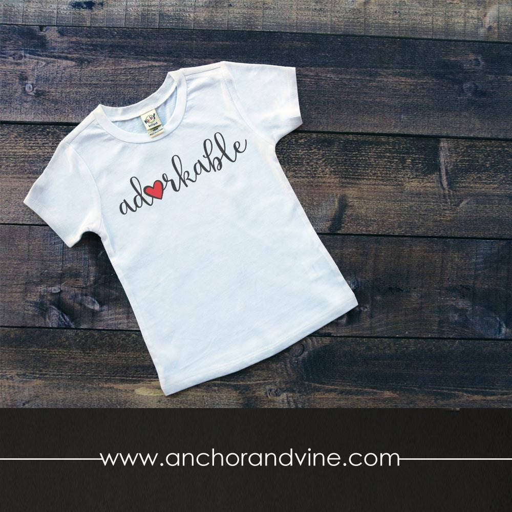 Tshirt Adorkable Kids Womens Mens T Shirt Etsy