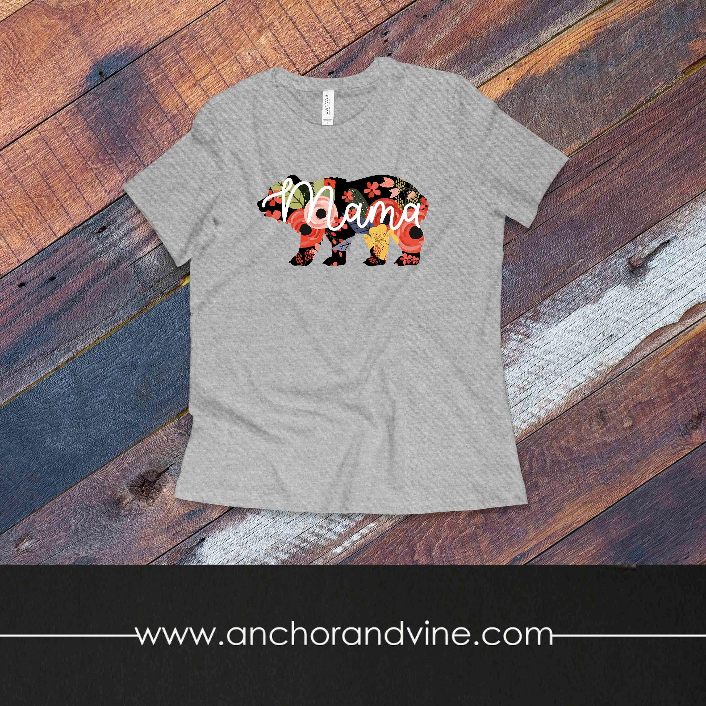 Tshirt Mama Bear Kids Womens Mens T Shirt Etsy