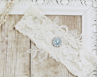 Wedding Garter, NO SLIP Lace Wedding Garter Set, bridal garter set, vintage rhinestones A01L-A02L
