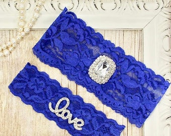 Wedding garter, wedding garter set, Customizable Ivory Lace Garter Set, Bridal Garter Set, Bridesmaid Gift, Prom, Personalized Wedding Gift