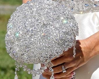 Brooch Bouquet, Bridal Bouquet, Wedding Bouquet, Bridesmaids Bouquet, Wedding Brooch, Wedding, Wedding Brooch Bouquet Deposit