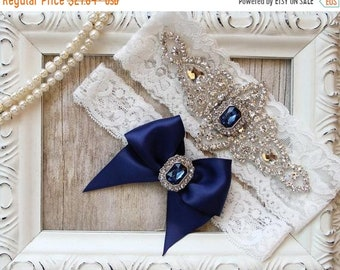 ON SALE Wedding garter, NO Slip Grip garter, garters for wedding or prom that can be monogrammed. Personalized garters in several colors.