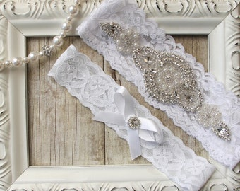 Wedding Garter, bridal garter, garter set, Toss Garter, Keepsake Garter, Lace Garter, Personalized garter A1, garters for wedding, prom
