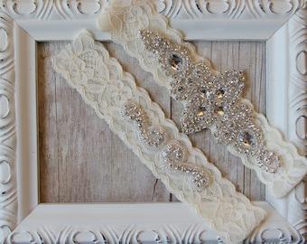Wedding Garter, Garter, wedding garter set, garter for wedding, bridal garter, garter set, wedding garter, garter belt, no slip garter, prom