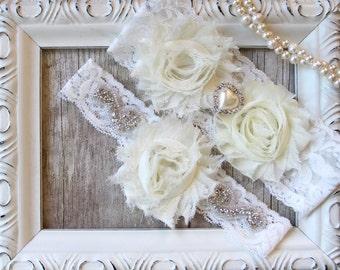 Wedding Garter Set, Wedding Garter, Prom, Wedding dress, gift for her, garters for wedding, bridal garters, bridal shower gift